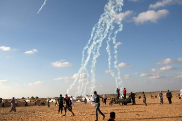 Protests Continue Along the Israel-Gaza Border for the 14th Consecutive Week