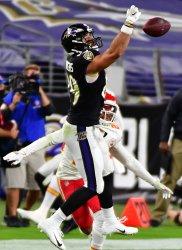 Baltimore Ravens play Kansas City Chiefs at M&T Bank Stadium