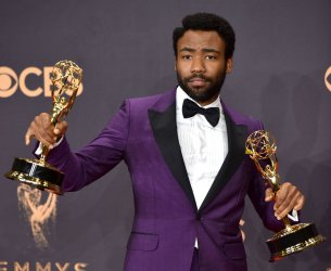 Donald Glover wins awards at the 69th annual Primetime Emmy Awards in Los Angeles