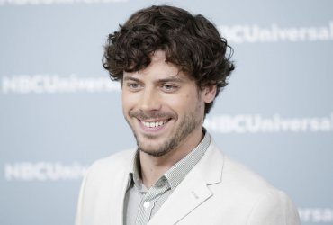 Francois Arnaud at the 2018 NBCUniversal Upfront