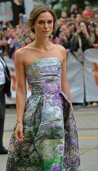 Keira Knightley attends the 'Can A Song Save Your Life' premiere at the Toronto International Film Festival