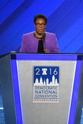 Rep. Marcia Fudge, Convention Chair, opens day two of the DNC convention in Philadelphia