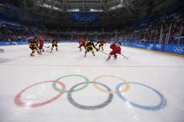 Final Of The Men's Ice Hockey At The 2018 Pyeongchang Winter Olympics