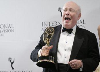 Julian Fellowes at the 43rd International Emmy Awards