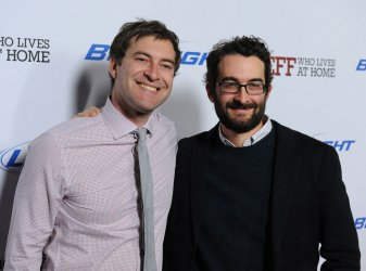 "Mark Dupass and Jay Duplass attend the ""Jeff, Who Lives at Home"" premiere in Los Angeles"