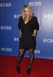 Kaley Cuoco arrives at the 2010 CBS Up Front at Lincoln Center in New York