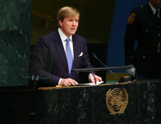 Willem-Alexander addresses the 70th UN General Assembly