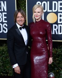Keith Urban and Nicole Kidman attend Golden Globe Awards