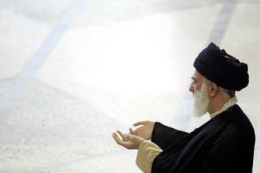 IRAN'S SUPREME LEADER LEADS WEEKLY FRIDAY PRAYER