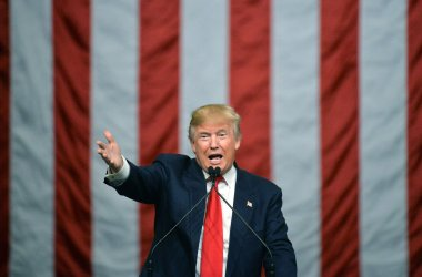 Donald Trump Holds a Rally in South Carolina