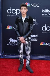 Asher Angel attends the 2019 Billboard Music Awards in Las Vegas