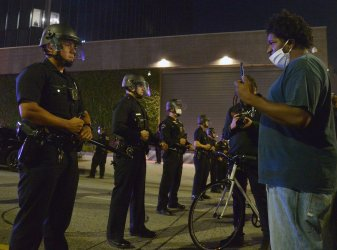 Protest Against Police Brutality Turns Violent in Los Angeles