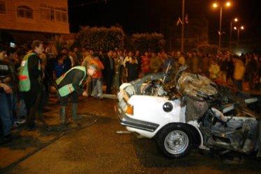 PROTESTS OVER THE DEATH HAMAS ABDELAZIZ RANTISSI IN GAZA CITY