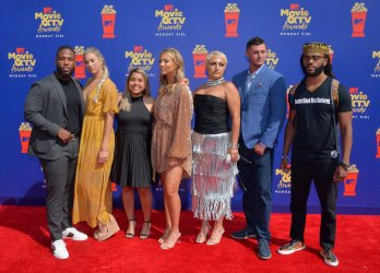 """Cast of """"The Real World"""" attends the MTV Movie & TV Awards in Santa Monica, California"""