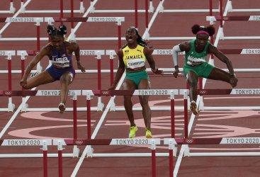 Womens 100m Hurdles at Tokyo Olympics