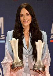 Kacey Musgrave wins award at the Academy of Country Music Awards in Las Vegas