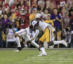 Alabama Crimson Tide at LSU Tigers