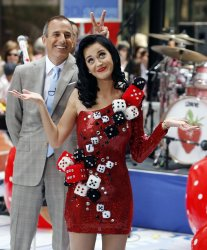 Katy Perry Performs on the NBC Today Show in New York