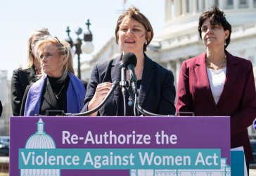 Violence Against Women Act Press Conference on Capitol Hill