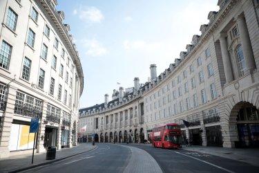 London is on Lockdown due to the Coronavirus Pandemic