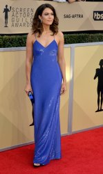 Mandy Moore attends the 24th annual SAG Awards in Los Angeles