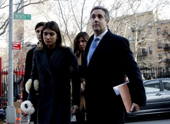 Trump personal lawyer Michael Cohen arrives to be sentenced