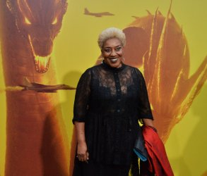 """CCH Pounder attends the """"Godzilla: King of the Monsters' premiere in Los Angeles"""