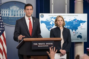 Trump Administration provides a briefing on the WannaCry Attack at the White House