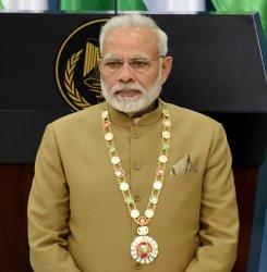 Indian Prime Minister Narendra Modi In Ramallah