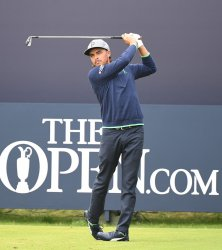 Rickie Fowler on the 3rd day of the Open Championship at Royal Portrush