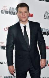 Matt Damon attends American Cinematheque Award Show