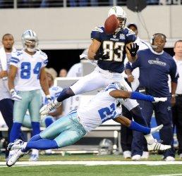 San Diego Chargers Vincent Jackson against the Cowboys