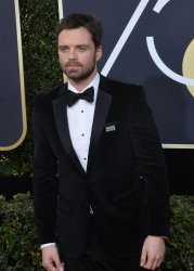 Sebastian Stan attends the 75th annual Golden Globe Awards in Beverly Hills