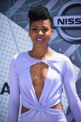 Danielle Truitt attends the BET Awards in Los Angeles