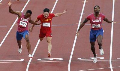 Men's 100M at Tokyo Olympics