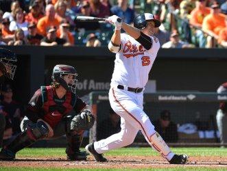 Orioles' Hyun Soo Kim hits a two-run home run