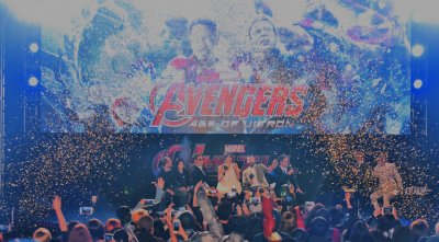 """Avengers: Age of Ultron"" premiere in Seoul"