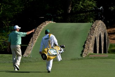 Round 3 of the Masters in Augusta, Georgia