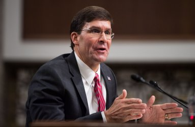 Mark Esper Defense Secretary Confirmation Hearing in Washington, D.C.