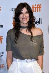 Rebecca Thomas attends 'Limetown' premiere at Toronto Film Festival