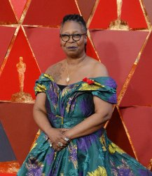 Whoopi Goldberg arrives for the 90th annual Academy Awards in Hollywood