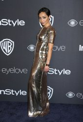 Ruth Negga attends the InStyle and Warner Bros. Golden Globe after-party in Beverly Hills
