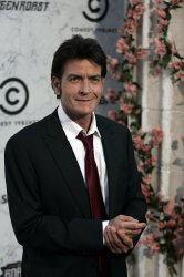 """Charlie Sheen arrives at the """"Comedy Central Roast of Charlie Sheen"""" in Culver City, California"""