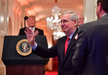 Brett Kavanaugh Sworn-in as an Associate Justice to the U.S. Supreme Court