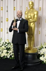 Mark Bridges wins best Costume Design at the 84th Academy Awards in Los Angeles