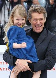 Anna Ferrara and Willem Dafoe attend the Cannes Film Festival