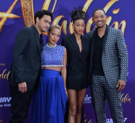 "Will Smith family attend the ""Aladdin"" premiere in Los Angeles"