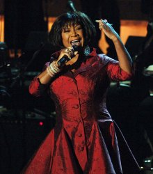 Patti LaBelle performs at the Rock and Roll Hall of Fame ceremonies in New York