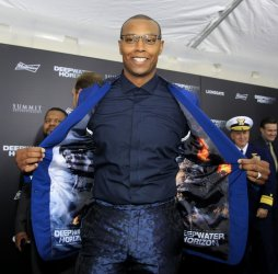 """Caron Butler attends the """"Deepwater Horizon"""" premiere in New Orleans"""