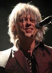 Bob Geldof performs in concert in Paris